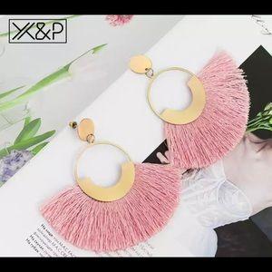 Jewelry - Bohemian Big Tassel Earrings